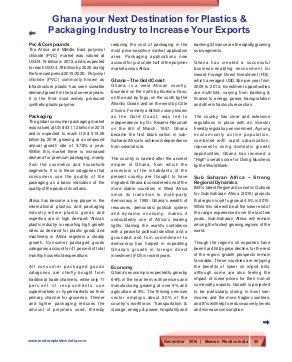 Modern Plastics India -Vol.17  | Issue - 11 | December  2016 | Mumbai