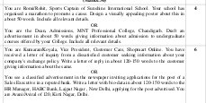 CBSE-CBSE Sample Paper Class 12 English Core 2017 Complete