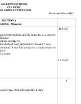 CBSE-Class 12 Sample Paper for English Elective CBSE 2017 Marking Scheme