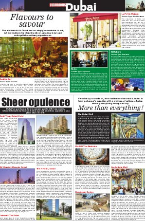 Luxurious Dubai-30th December 2016