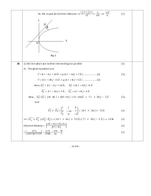 CBSE-CBSE Sample Paper for Class 12 Maths, Marking Scheme and Key 2017