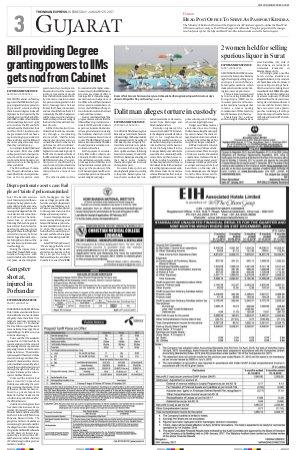 Ahmedabad-January 25, 2017
