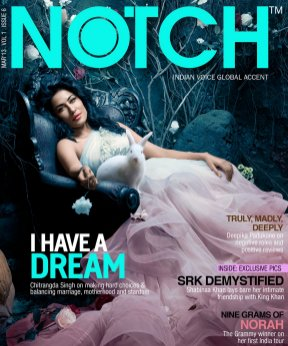 NOTCH - India's First Digital Lifestyle Magazine-NOTCH March Issue