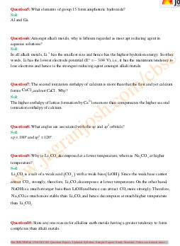 CBSE-CBSE Class 11 Chemsitry Solved Paper Set 2