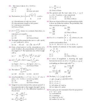 Mathematics Today-Mathematics Today