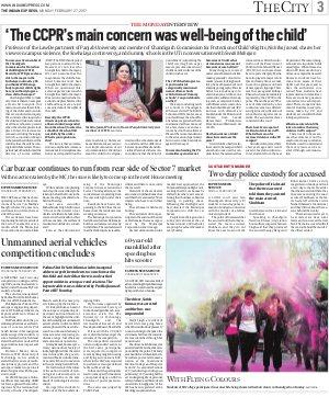 Chandigarh-February 27, 2017