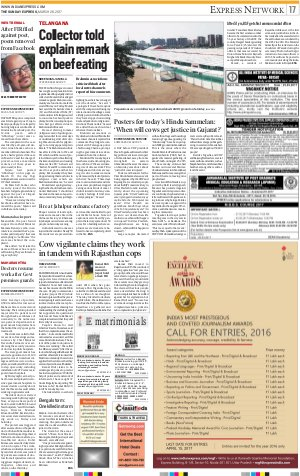 Lucknow-March 26, 2017