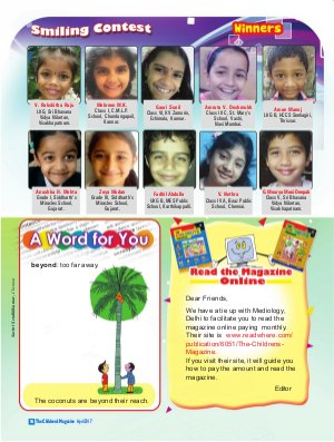 The Children's Magazine-April