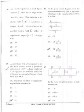 Engineering-JEE Main 2017 Question Paper