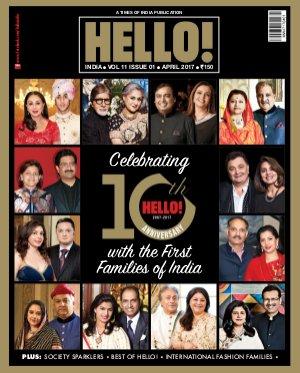 HELLO! India-HELLO! INDIA APRIL 2017