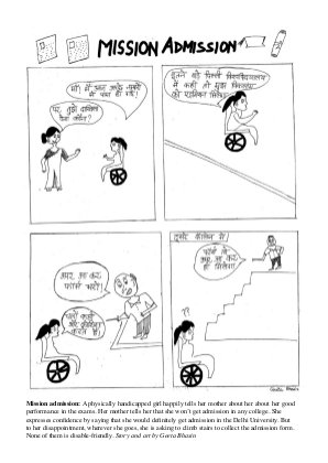 Comics on Disability-Disability