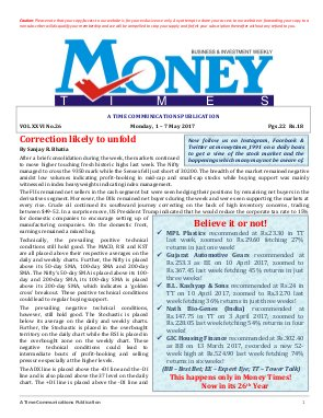MONEY TIMES-Monday, 1 - 7 May 2017
