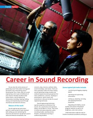 Career Options-July 2013