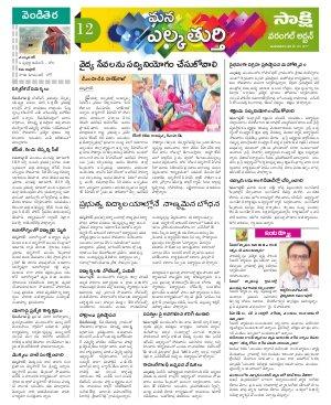 Warangal Urban Constituencies-20-06-2017