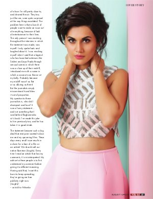 You & I Weekly-August 14, 2017- Issue-29  Taapsee Pannu Cover