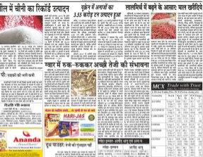Vyapar Kesari Hindi Daily News Paper-16 August 2017