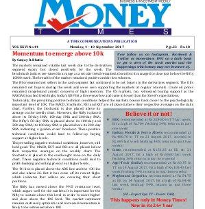 MONEY TIMES-Monday, 4 - 10 Sept 2017