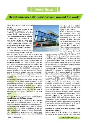 Plastics Planet International-Vol.09 | Issue - 05 | June - July 2013