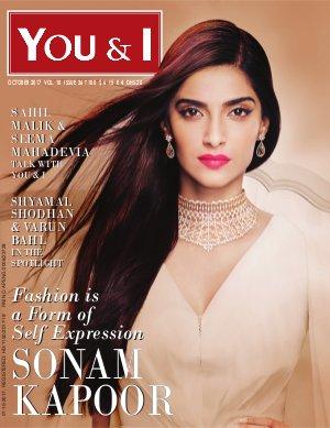 You & I Monthly Magazine-October-2017, Issue 36- Sonam Kapoor