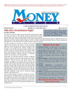 MONEY TIMES-Monday, 16-22 October 2017