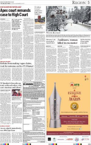 Chandigarh-December 12, 2017
