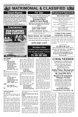 Indo Canadian Times -14 Dec 2017