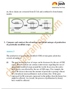 CBSE-Biotechnology and its Applications