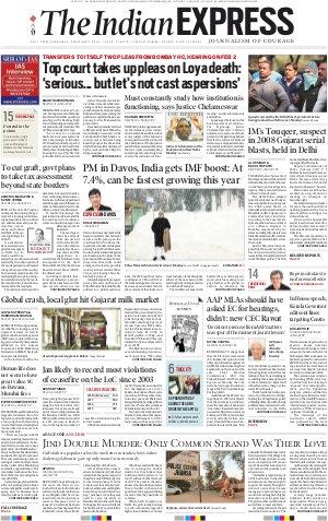 Delhi-January 23, 2018