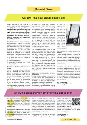 Plastics Planet International-Vol.10 | Issue 6 | October 2013