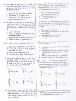 UGC-Joint CSIR UGC NET Questions Papers June 2012 Physical Sciences