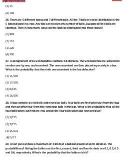 MBA-MAT September 2012 Paper Mathematical Skills