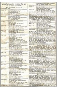 Education News-UP Board Class 12th Schedule 2014