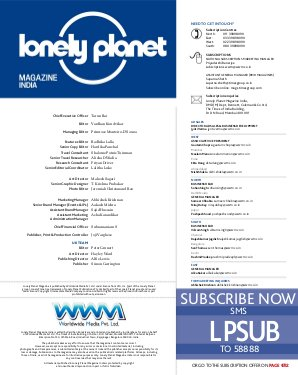 Lonely Planet Magazine India-March 2014