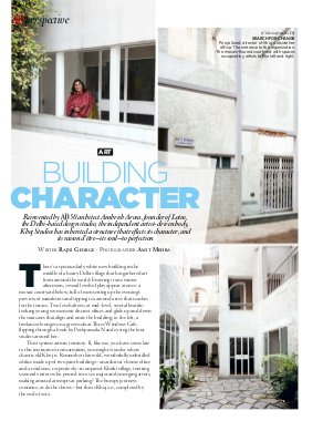 Architectural Digest-March - April 2014