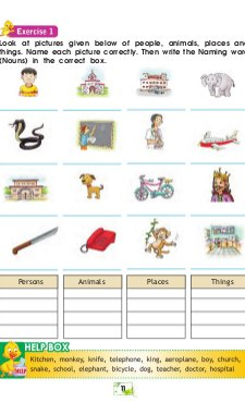 Elementary English Grammar & Composition-For Class-2