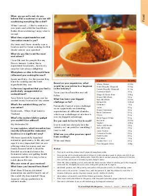 Food and Nightlife Magazine-Food and Nightlife Magazine March 2014