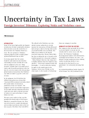 Lex WITNESS - India's First Magazine on Legal & Corporate Affairs-Lex Witness May 2014