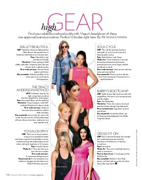 Vogue India Specials-Wellness Guide 2014