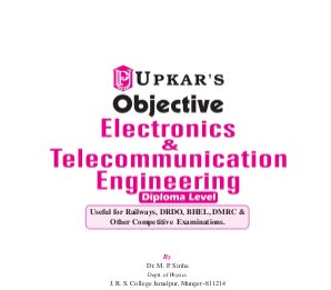 Objective Electronics & Telecommunication Engineering (Diploma Level)-Thu Jul 24, 2014
