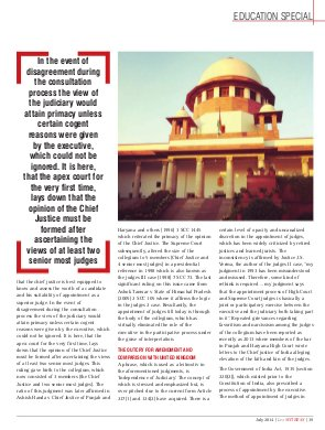 Lex WITNESS - India's First Magazine on Legal & Corporate Affairs-Lex Witness July 2014