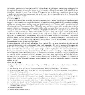 Prabandhan: Indian Journal of Management-PIJM-Jan10-Article7-CSR : A Strategic Publicity