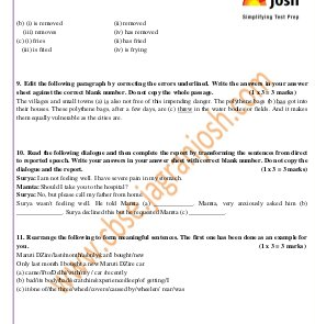 CBSE-CBSE Class 10 English (Language and Literature) Practice Paper SA – 1 2014