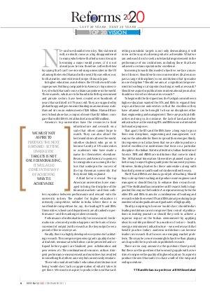 Reforms 2020-30 December, 2011