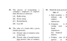 UGC-UGC NET June 2014 Question Paper – Management II