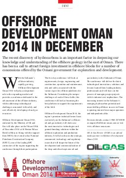 Oil & Gas Review 16-OGR, Sep-Oct 2014