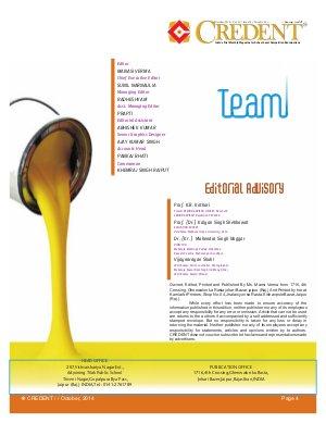 Credent Magazine-Credent Magazine October 2014