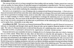 Indian Journal of Finance-IJF-June07-Article1-Financial Derivatives Markets in India - Some Glaring Issues