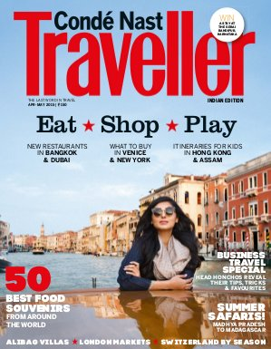 Conde Nast Traveller India-April - May 2015
