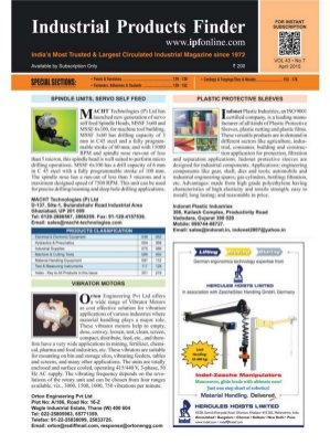 Industrial Products Finder-April 2015