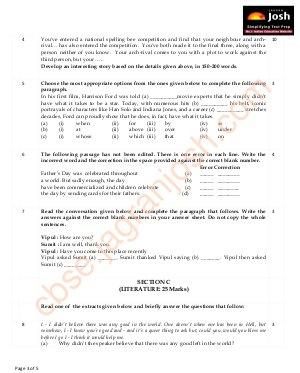 CBSE-CBSE Class 9 English Communicative Question Paper SA II Set 2 2015